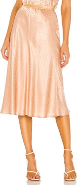 Saloon Skirt in Peach. - size 36/4 (also in 34/2,38/6)