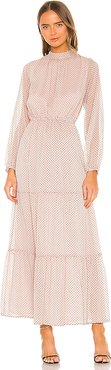 Be Someone Maxi Dress in Blush. - size L (also in M,S,XS)