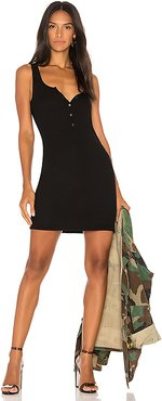 Runner Tank Dress in Black. - size M (also in XS,S,L)
