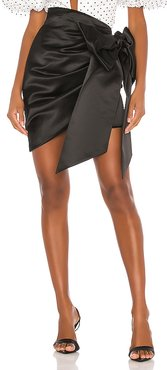 Bow Wow Mini Skirt in Black. - size S (also in XS)