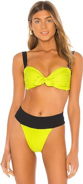 Emma Bikini Top in Green. - size XS (also in S,M,L)