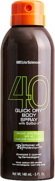Quick Dry Body Spray SPF 40 in Beauty: NA.