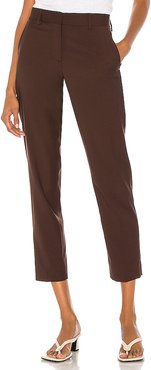 Tailored Pant in Brown. - size 42/M (also in 38/XS,44/L)