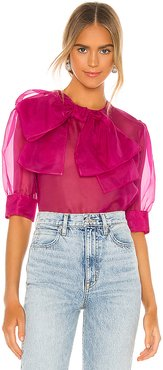 Blusa Blouse in Fuchsia. - size 40/S (also in 38/XS,42/M)