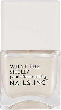 What the Shell? Pearl Effect Nail Polish in World's Your Oyster Babe.