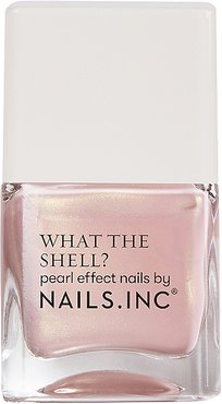 What the Shell? Pearl Effect Nail Polish in Shells Aloud.