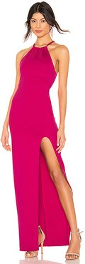 Pinot Gown in Fuchsia. - size XL (also in L)