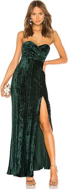 Spanish Moss Gown in Green. - size S (also in XXS,XL)