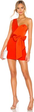 Jasper Mini Dress in Red. - size S (also in M,XL,XS,XXS)