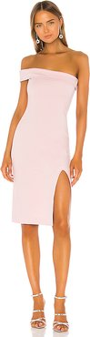 Kade Midi Dress in Pink. - size XL (also in L)