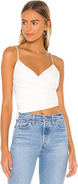 Julina Embellished Top in White. - size XXS (also in L,M,S,XL,XS)