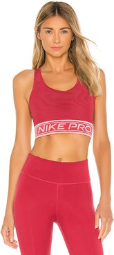 Swoosh Mesh NP Pad Sports Bra in Brick. - size M (also in L,S,XS)