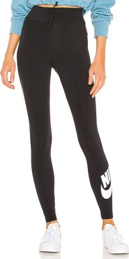 NSW Legasee Legging in Black. - size L (also in M,S,XS)