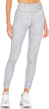 One 7/8 Mini Leopard Tight in Grey. - size XS (also in M,S)