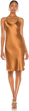 Short Cami Dress in Tan. - size S (also in M)
