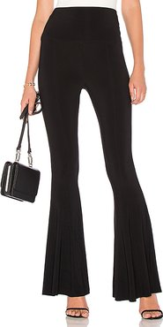 Fishtail Pant in Black. - size L (also in M,S)