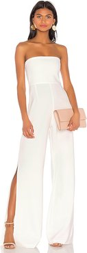Glamour Jumpsuit in White. - size S (also in L,M,XS)