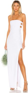 Flaunt Gown in White. - size L (also in M)