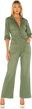 Charley Arrow West Jumpsuit in Green. (also in 24)