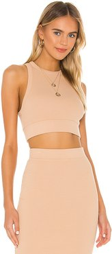 X REVOLVE Alicia Sleeveless Crop Top