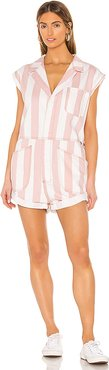 Safari Camp Overalls in Pink. - size S (also in XS,XXS)