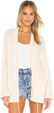 Marlee Cardigan in Cream. - size S (also in XS,M,L)