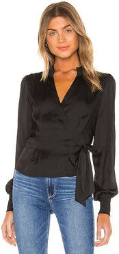 Selby Top in Black. - size L (also in S,XS)