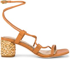 Vienna Sandal in Tan. - size 9 (also in 7.5,8,8.5)