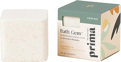 25mg CBD Bath Gem Effervescent Mineral Soak for Relaxation and Recovery in Beauty: NA.