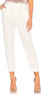 Morgan Pant in White. - size 6 (also in 8)