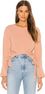 Camilla Sweater in Pink. - size XXS (also in XS,S,M,XL)