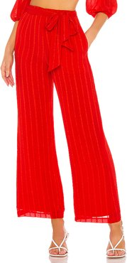 Lola Pant in Red. - size XL (also in XXS,XS,S,M,L)