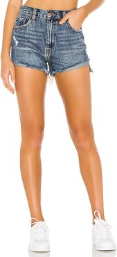 Kylee Relaxed High Rise Cuffed Short. - size 24 (also in 25)