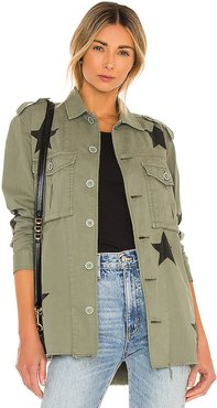 Camilo Jacket in Army. - size XS (also in L,M,S)