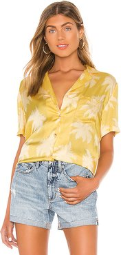 Anya Top in Yellow. - size XS (also in S,M)