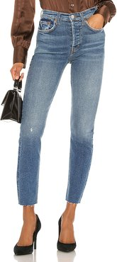 High Rise Ankle Crop. - size 25 (also in 23,24,26,28,29,30)