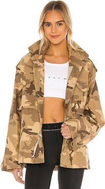 RBK VB Military Jacket in Brown. - size XS (also in L,M,S)