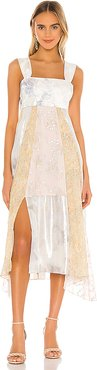 Sleeveless Daffodil Dress in Ivory. - size 0 (also in 4)
