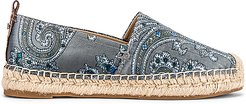 Khloe Espadrille in Blue. - size 6 (also in 6.5,9.5)