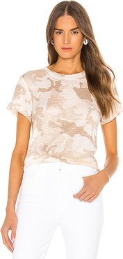 The Perfect Tee in Beige. - size XL (also in L,M,S,XS)