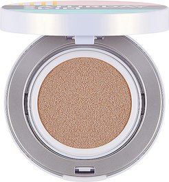 All Aglow Sunscreen Perfecting Cushion Compact SPF 50 in Honey.