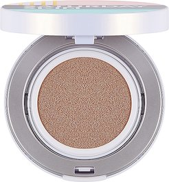 All Aglow Sunscreen Perfecting Cushion Compact SPF 50 in Goldie.