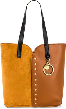 Gaia Large Carry All Tote in Brown.