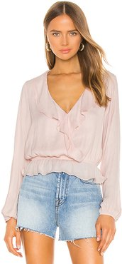 Brewster Top in Pink. - size M (also in L,S,XL,XS)