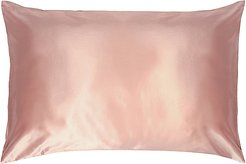 King Pure Silk Pillowcase in Pink.