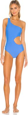 Claudia Reversible One Piece in Blue. - size M (also in XS,S)
