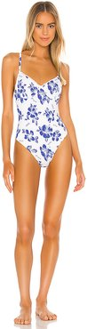 Taylor One Piece in Blue. - size XS (also in S,M,L)