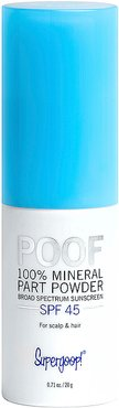 Poof 100% Mineral Part Powder SPF 45 in Beauty: NA.