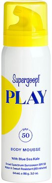 PLAY Body Mousse SPF 50 in Beauty: NA.