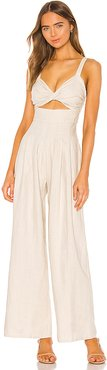 James Jumpsuit in Neutral. - size XXS (also in S,XL)